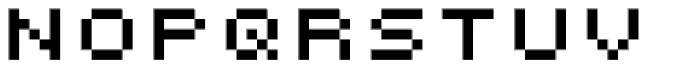 Micro Manager NF Font LOWERCASE