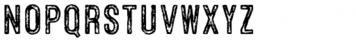 Microbrew Four Font LOWERCASE