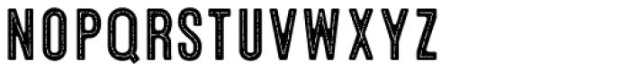Microbrew Soft One Inline Font LOWERCASE