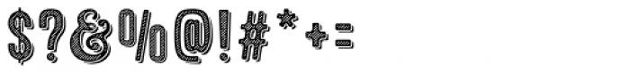 Microbrew Soft Six 3D Font OTHER CHARS