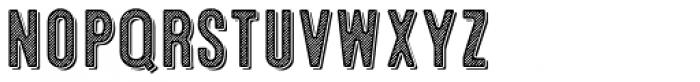 Microbrew Soft Six 3D Font LOWERCASE
