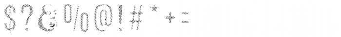 Microbrew Soft Six Fill Font OTHER CHARS