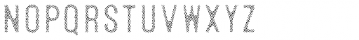 Microbrew Soft Six Fill Font UPPERCASE