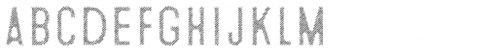 Microbrew Soft Six Fill Font LOWERCASE