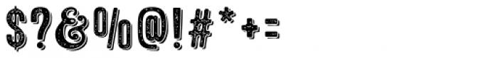 Microbrew Soft Three 3D Font OTHER CHARS