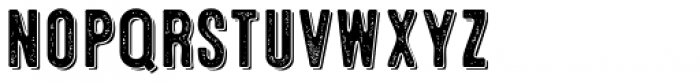 Microbrew Soft Three 3D Font LOWERCASE
