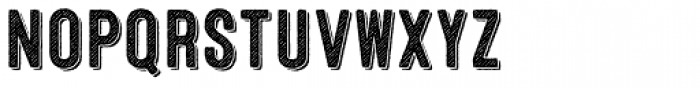 Microbrew Two 3D Font LOWERCASE