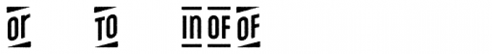 Microbrew Unicase Catchwords Font OTHER CHARS