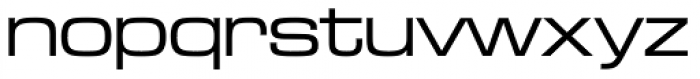 Microgramma D Medium Extended Font LOWERCASE