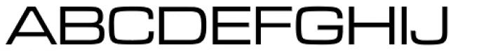 Microgramma EF Medium Extended Font UPPERCASE