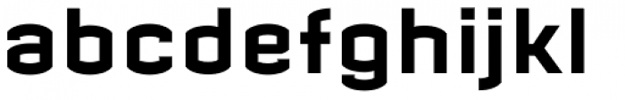 Micronica Font LOWERCASE