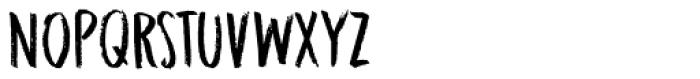 Midnight Chalker Regular Font UPPERCASE