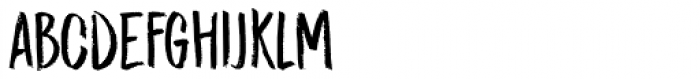 Midnight Chalker Regular Font LOWERCASE