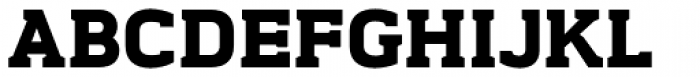 Midnight ExtraBold Font UPPERCASE