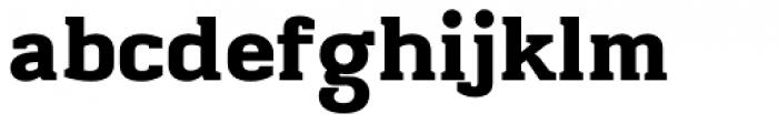 Midnight ExtraBold Font LOWERCASE