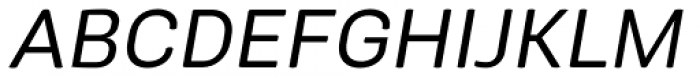 Midpoint Pro Oblique Font UPPERCASE