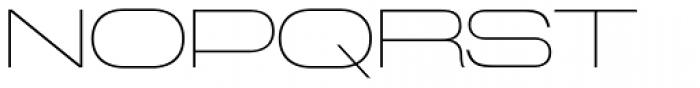 Miedinger Thin Font UPPERCASE