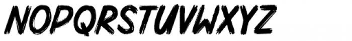 Mighty Brush Regular Font UPPERCASE