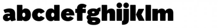 Migrena Grotesque Black Font LOWERCASE
