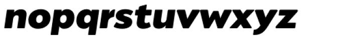 Migrena Grotesque Bold Italic Font LOWERCASE