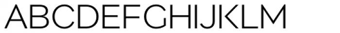 Migrena Grotesque Light Font UPPERCASE