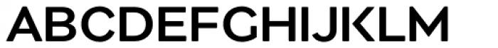 Migrena Grotesque Medium Font UPPERCASE