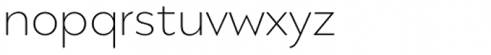 Migrena Grotesque UltraLight Font LOWERCASE