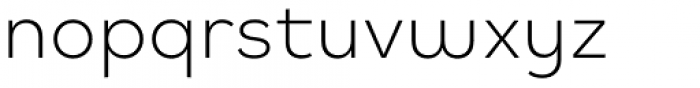Mihaly Display Light Font LOWERCASE