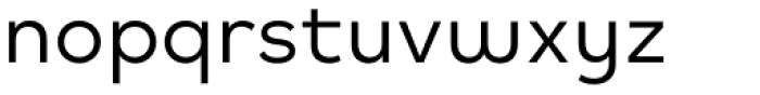 Mihaly Display Regular Font LOWERCASE