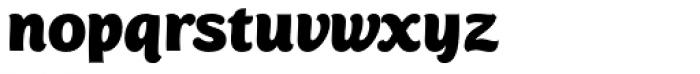 Mijas Ultra Font LOWERCASE