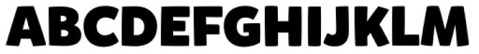 Mikado Black Font UPPERCASE