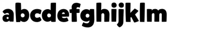 Mikado Black Font LOWERCASE