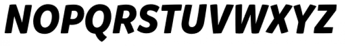 Mikado Bold Italic Font UPPERCASE