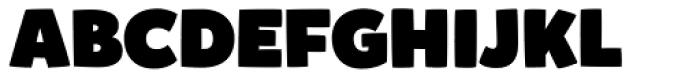 Mikado Ultra Font UPPERCASE