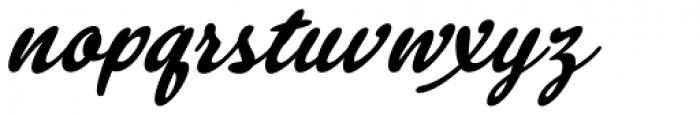 Mikal Slanted Font LOWERCASE