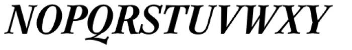 Mikaway BQ Cond Med Italic Font UPPERCASE