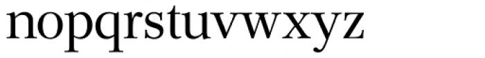 Mikaway BQ Light OsF Font LOWERCASE