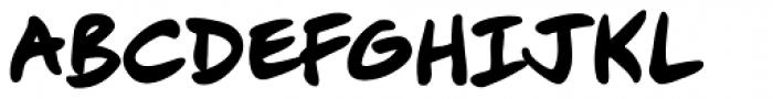 Mike Kunkel Bold Font UPPERCASE