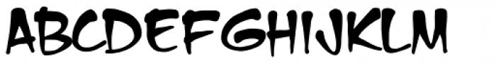 Mike Wieringo Evil Font LOWERCASE