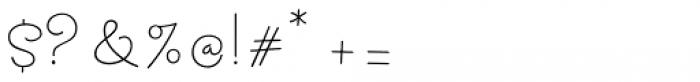 Mikha Font OTHER CHARS