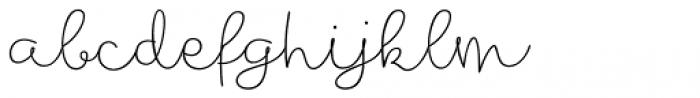 Mikha Font LOWERCASE