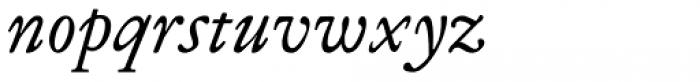 Miklos Italic Font LOWERCASE