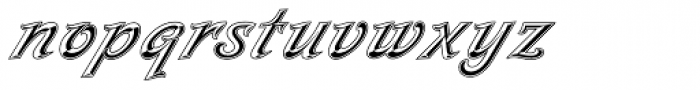 Milano Font LOWERCASE