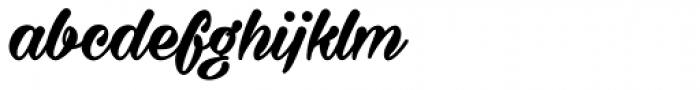 Milasian Circa Bold Font LOWERCASE