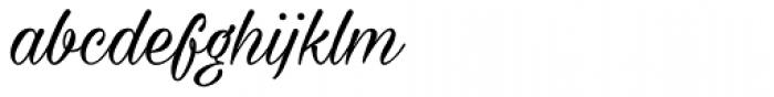 Milasian Circa Font LOWERCASE