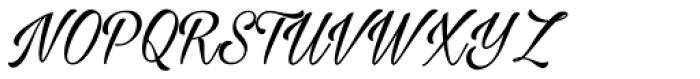 Milasian Font UPPERCASE