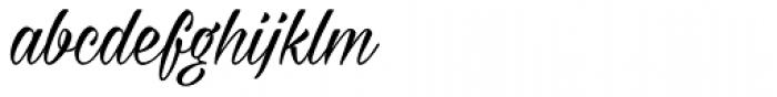 Milasian Font LOWERCASE