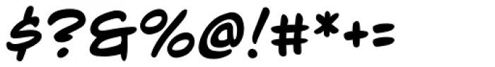 Mild Mannered Font OTHER CHARS
