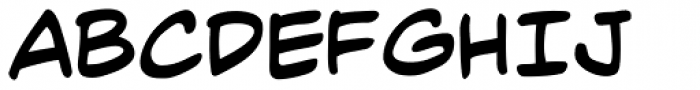 Mild Mannered Font LOWERCASE