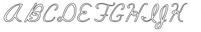 Mildred Cocktail Font UPPERCASE